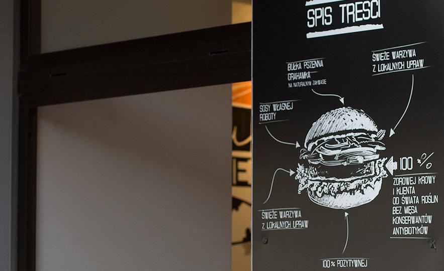 I krowa cała - wegańskie burgery Gdynia